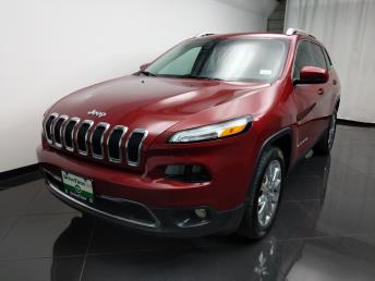 2016 Jeep Cherokee Limited - 1080172011