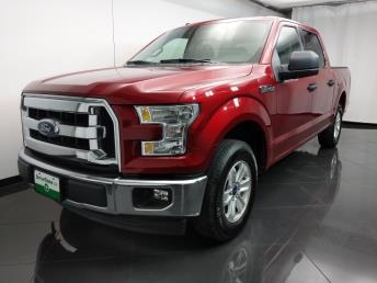 2017 Ford F-150 SuperCrew Cab XLT 5.5 ft - 1080172557