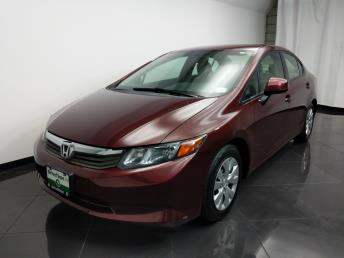 2012 Honda Civic LX - 1080173867