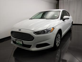 2014 Ford Fusion S - 1080174014