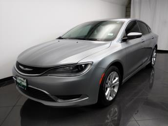 2016 Chrysler 200 Limited - 1080174075