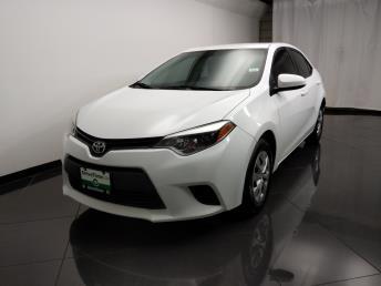 2015 Toyota Corolla L - 1080174543