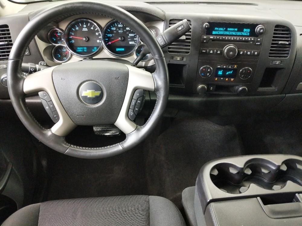 2013 Chevrolet Silverado 1500 Extended Cab LT 6.5 ft - 1080174782