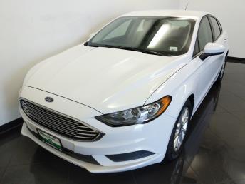 2017 Ford Fusion SE - 1100045235