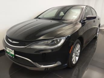 2016 Chrysler 200 Limited - 1100046100