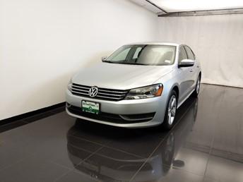 2013 Volkswagen Passat 2.5L SE - 1100046522