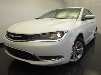 2015 Chrysler 200 - 1120126602