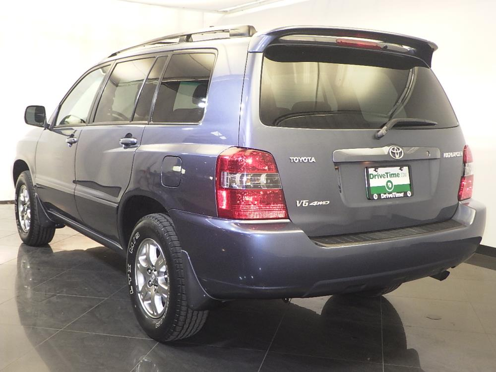 2007 toyota highlander for sale in jacksonville 1120132688 drivetime. Black Bedroom Furniture Sets. Home Design Ideas