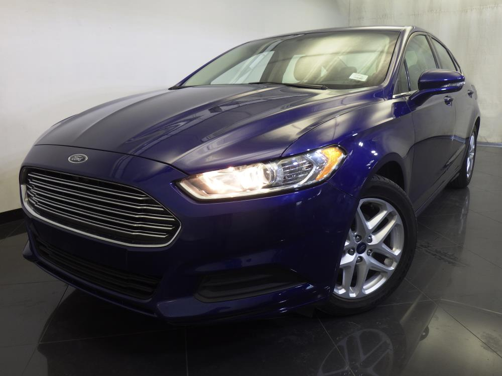 2014 ford fusion for sale in orlando 1120135983 drivetime. Black Bedroom Furniture Sets. Home Design Ideas