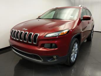 2016 Jeep Cherokee Limited - 1120143386