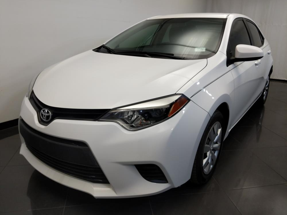 Toyota Corolla 2014 Le White