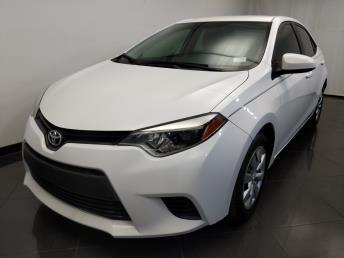 Used 2014 Toyota Corolla