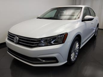 Used 2017 Volkswagen Passat