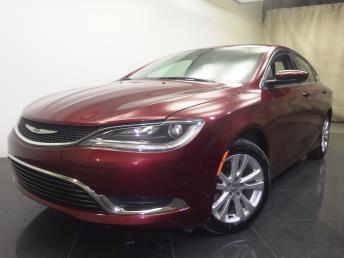 2015 Chrysler 200 - 1190103477
