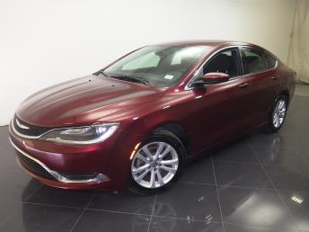 2015 Chrysler 200 - 1190105023