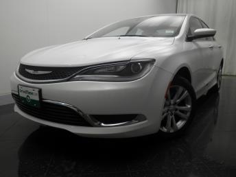 2015 Chrysler 200 - 1190105037