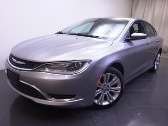 2015 Chrysler 200 - 1190109094