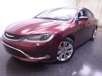 2015 Chrysler 200 - 1190109243