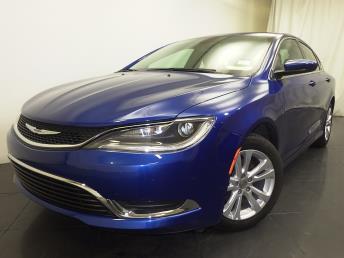 2016 Chrysler 200 - 1190115213