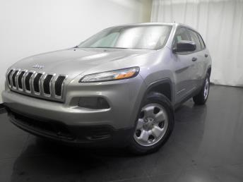 2014 Jeep Cherokee Sport - 1190116505
