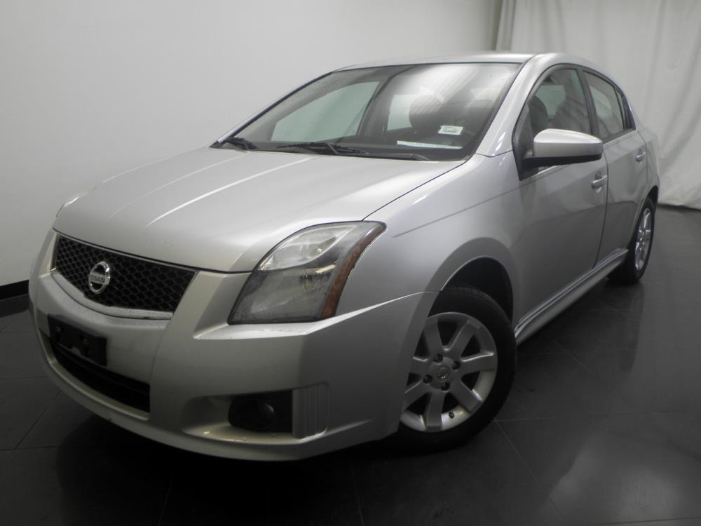 2012 Nissan Sentra SR - 1190117078