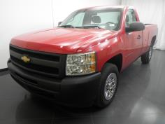2012 Chevrolet Silverado 1500 Regular Cab Work Truck 8 ft