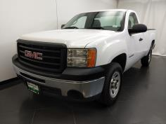 2013 GMC Sierra 1500 Regular Cab Work Truck 8 ft