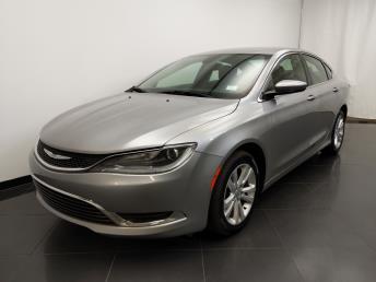 2015 Chrysler 200 Limited - 1190118086