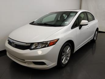 2012 Honda Civic EX - 1190120288