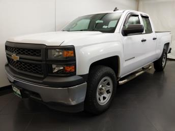 2015 Chevrolet Silverado 1500 Double Cab Work Truck 6.5 ft - 1190120695