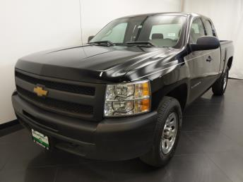 2013 Chevrolet Silverado 1500 Extended Cab Work Truck 6.5 ft - 1190121507
