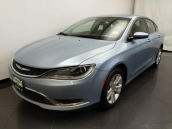 2015 Chrysler 200 Limited - 1190121556