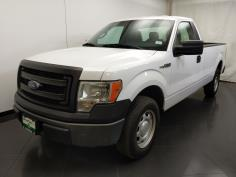 2013 Ford F-150 Regular Cab XL 8 ft