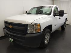 2013 Chevrolet Silverado 1500 Regular Cab Work Truck 8 ft