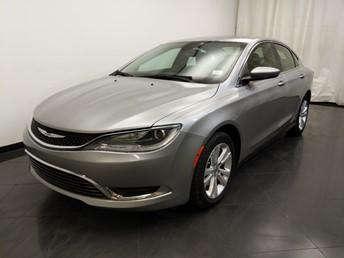 2015 Chrysler 200 Limited - 1190125309