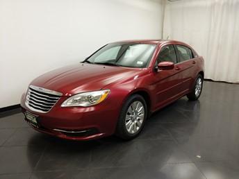2012 Chrysler 200 LX - 1190125333