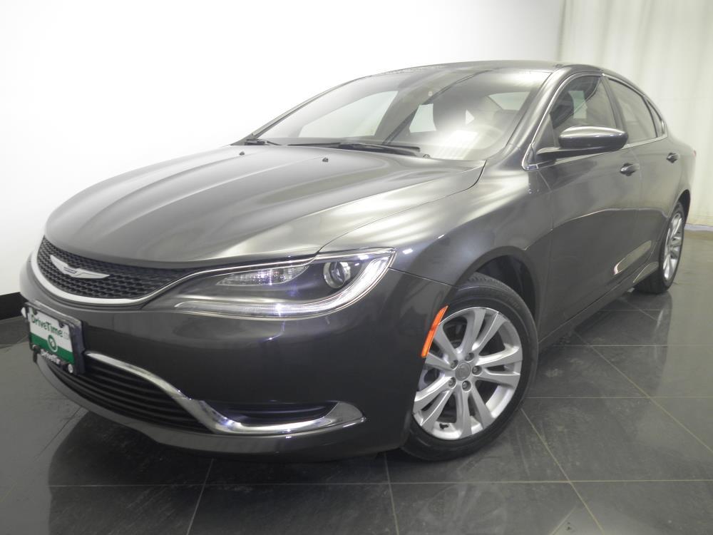 2015 Chrysler 200 - 1230026628