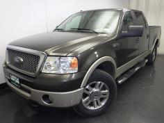 2008 Ford F-150 SuperCrew Cab Lariat 6.5 ft