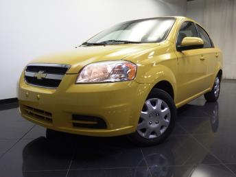 2011 Chevrolet Aveo - 1240014654