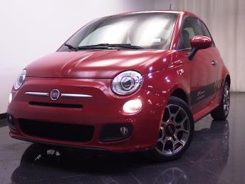 2013 FIAT 500 - 1240016333