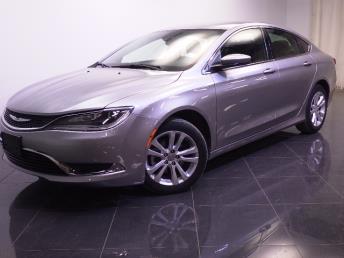 2015 Chrysler 200 - 1240019893