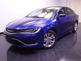 2015 Chrysler 200 - 1240020341