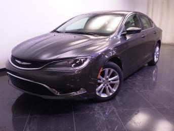 2015 Chrysler 200 - 1240022090