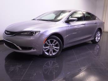 2015 Chrysler 200 - 1240024599