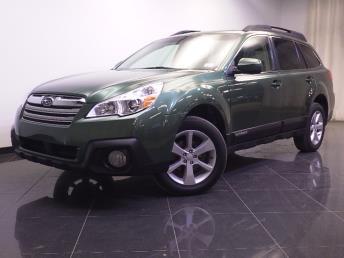 2013 Subaru Outback 2.5i Premium - 1240027927