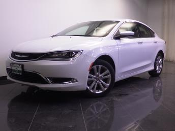 2016 Chrysler 200 Limited - 1240028036
