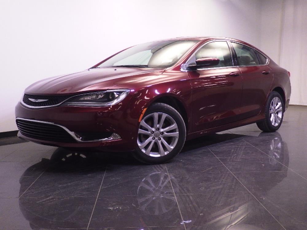 2015 Chrysler 200 Limited - 1240028125