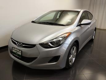 2013 Hyundai Elantra GLS - 1240030912