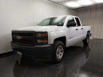 2014 Chevrolet Silverado 1500 Double Cab Work Truck 6.5 ft - 1240031826