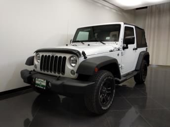 Used 2015 Jeep Wrangler